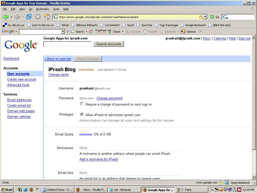 Gmail for your website
