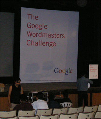 Google Wordmasters Challenge in Pune