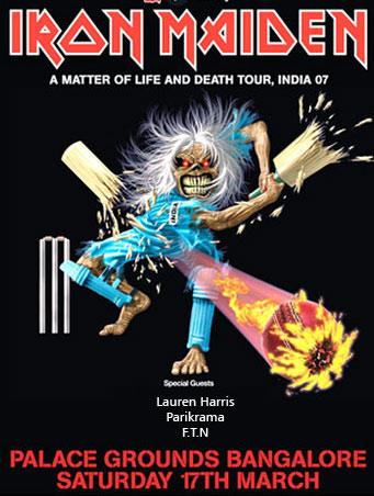 Iron Maiden Bangalore India