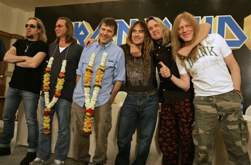 Iron Maiden Mumbai photos