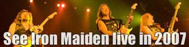 Bangalore Iron Maiden Concert