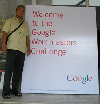 Prash @ Google Wordmasters, Pune